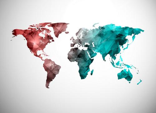 World Graphic 2 Mural