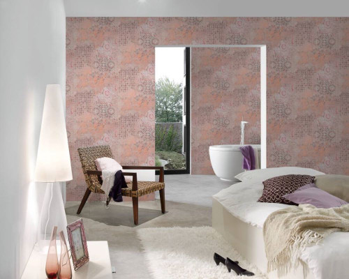 RW6624 Distressed Wallpaper