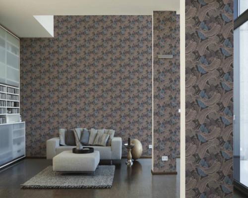 RW6637  Koi Fish Wallpaper