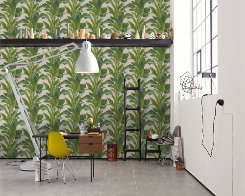 RW6638  Green Jungle  Wallpaper