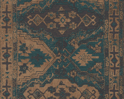 RW6731 Green Moroccan Wallpaper