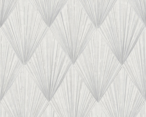 RW6645 Grey Geometric Wallpaper