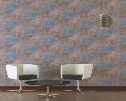 RW6620 Distressed Wallpaper