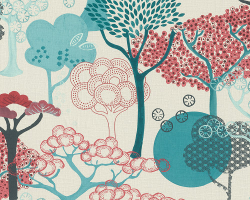 RW6833 Oriental Tree Design