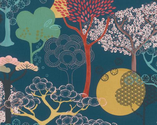RW6834 Oriental Tree Design