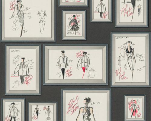 RW64378461A Karl Lagerfeld Wallpaper