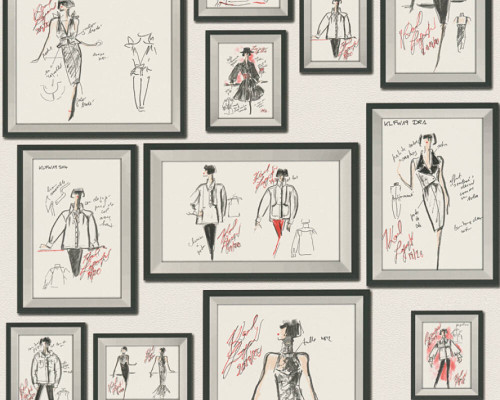 RW64378463A Karl Lagerfeld Wallpaper