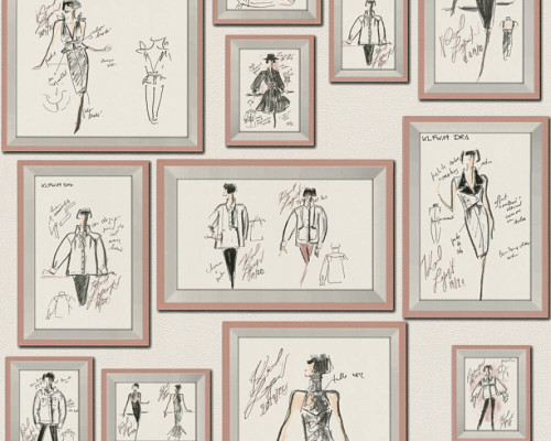 RW64378464A Karl Lagerfeld Wallpaper