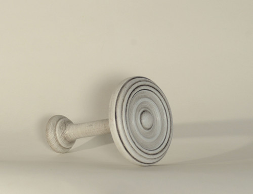 50mm Wooden Holdbacks Colour Grey (Pair)