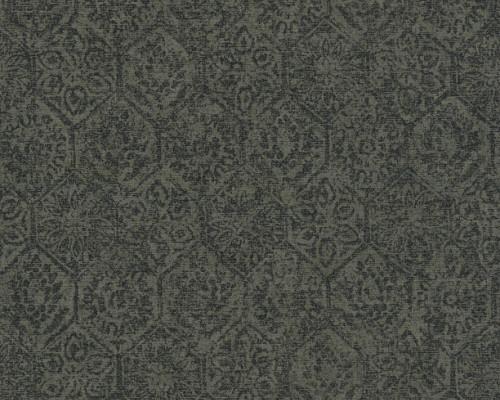 RW95380223A Subtle Geometric and floral design