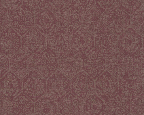 RW95380224A Subtle Geometric and floral design