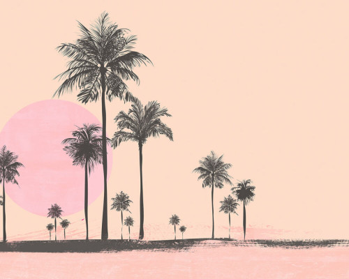 Palm scene  2