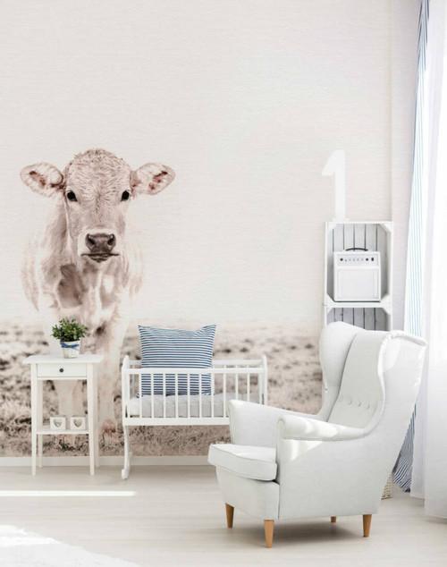 White Cow Mural