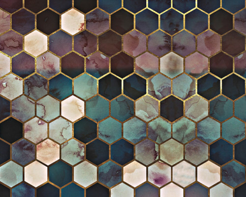 Colourful Hexagons 2