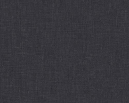 RW6538 Plain Black Textured Wallpaper