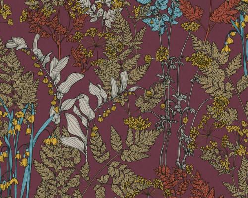RW95377514A Wine background with Foliage