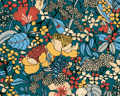 RW95377564A Colourful Florals