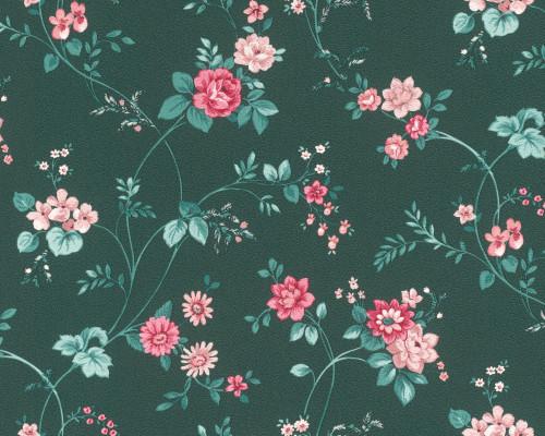 T0574RT Floral wallpaper
