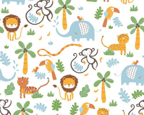 RW59381152A Jungle Wallpaper