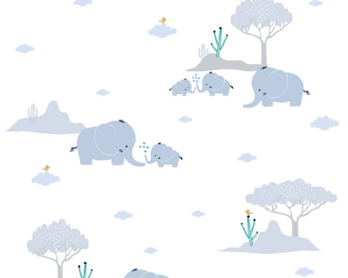 RW59381281A Jungle Wallpaper