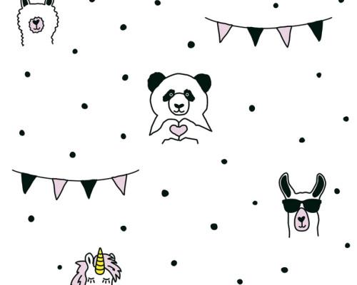 RW59381381A  Animal wallpaper