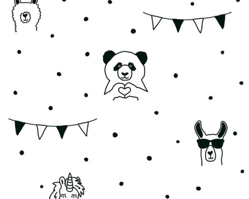 RW59381382A  Animal wallpaper