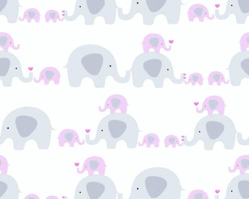 RW59381132A Pink/Grey Elephant