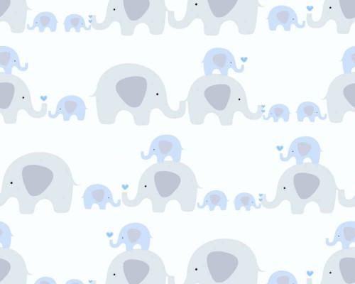 RW59381131A Blue/Grey Elephant