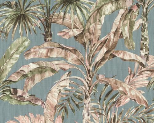 RW59485257R Palm Leaf Wallpaper