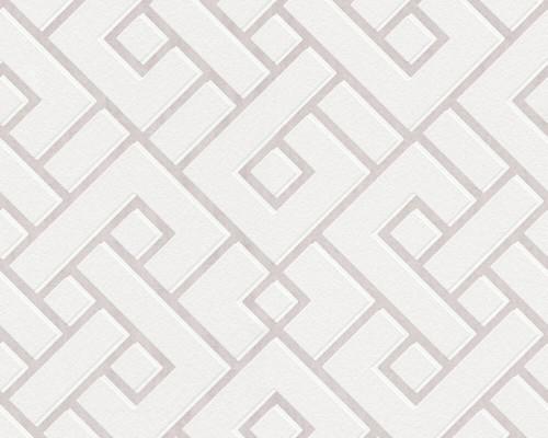 RW379841A Geometric Wallpaper