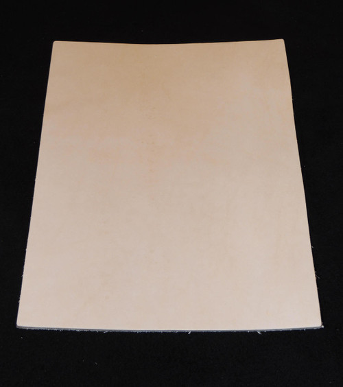 8-9 oz. VEG Tan  Tooling Leather for Book Binding Wallets Journals Sheaths Holsters
