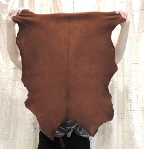 WHISKEY Buckskin Leather Hide for Native American Crafts Regalia Clothing Medicine Bags Laces Fringe Lining Leather Journal Covers.