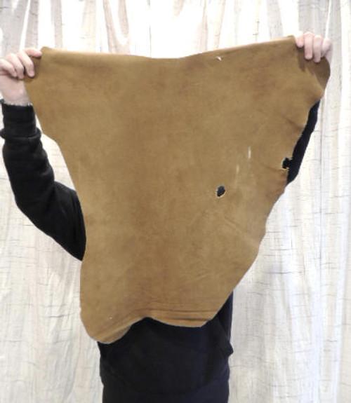 SADDLE DEERSKIN Leather Hide for Native American SASS Western Crafts Buckskins Cosplay LARP Costumes Laces  Deer Antler Mounts Bags..