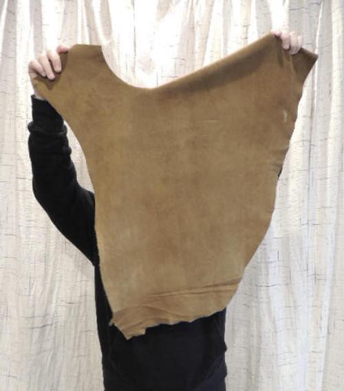 SADDLE DEERSKIN Leather Hide for Native American SASS Western Crafts Buckskins Cosplay LARP Costumes Laces  Deer Antler Mounts Bags...