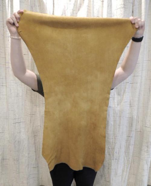 SAND DEERSKIN Leather Hide for Native American SASS Western Crafts Buckskins Cosplay LARP Costumes Laces Taxidermy Deer Antler Mounts Bags$