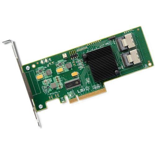 LSI00194 LSI Internal SATA/SAS 9211-8i 6Gbs PCI-Express 2.0 RAID