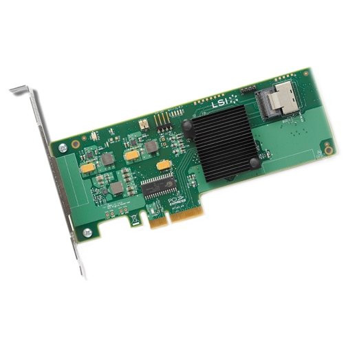 SAS9211-4I LSI 9211-4I 4-Port PCI-E SAS/SATA
