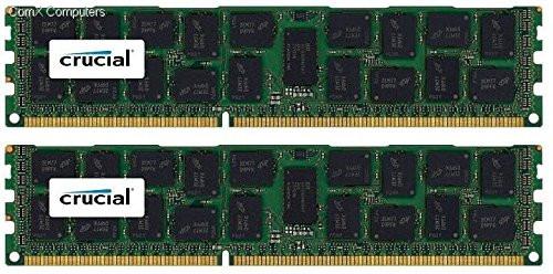 CT2K16G3ERSLD4160B CRUCIAL 32GB KIT DDR3 1600 RDIMM 2Rx4 CL11 PC3L-12800 1.35V 240-PIN