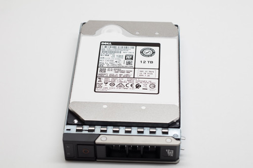 "401-ABHX DELL 12TB 7.2K SAS 3.5"" 12Gb/s HDD 14GEN 512e Factory Sealed"