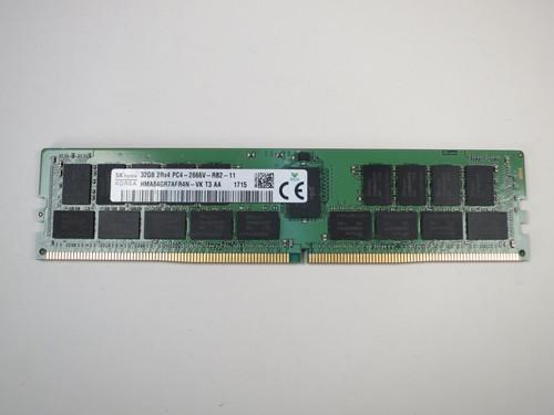 HMA84GR7AFR4N-VK HYNIX 32GB PC4-2666V ECC REG RDIMM SERVER MODULE