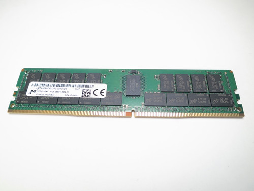 MTA36ASF4G72PZ-2G6D1 MICRON 32GB DDR4 2666 RDIMM 2Rx4 CL19 PC4-21300 1.2V 288-PIN SDRAM MODULE