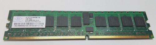 NT1GT72U4PA0BU-5A NANYA 1GB SERVER DIMM DDR2 PC3200 ECC REG ECC 1.8v 1RX4 RAM