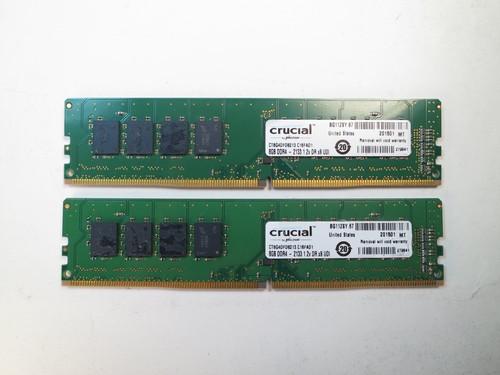 CT2K8G4DFD8213 CRUCIAL MICRON 16GB KIT DDR4 2133 2Rx8 UDIMM 2 x 8GB CT8G4DFD8213 REF