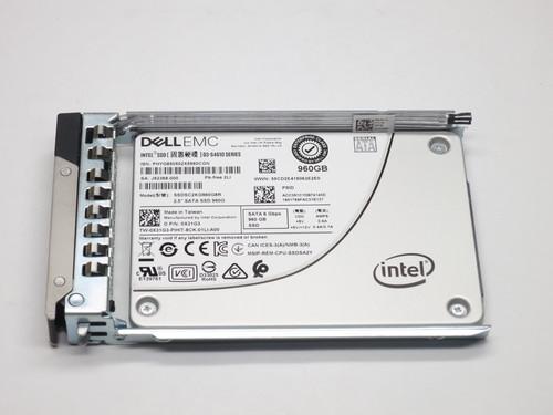 "X31G3 DELL 960GB MLC SATA 2.5"" 6Gb/s SSD 14G KIT D3 S4610 SERIES MIXED USE FACTORY SEALED"