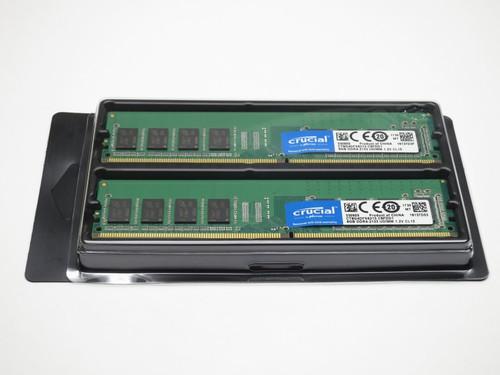 CT2K8G4DFS8213 CRUCIAL 16GB DDR4 2133 UDIMM 1Rx8 CL15 PC4-17000 1.2V 288-PIN SDRAM MODULE KIT 2X4