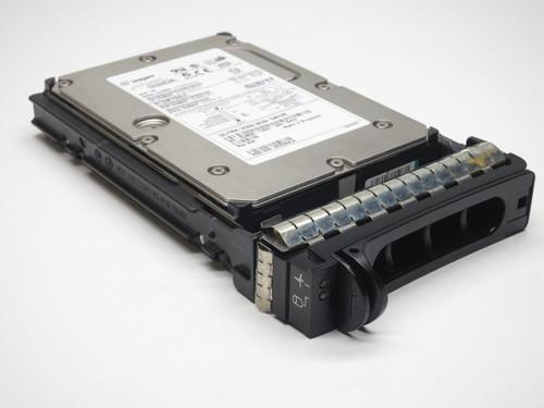 """C3690 DELL 36GB 15K SCSI 3.5"""" U320 80PIN HARD DRIVE W/TRAY 9D988 REFURBISHED"""