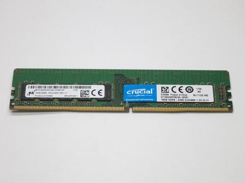 CRUCIAL 16GB DDR4 2400 ECC UNBUFFERED 2Rx8 EUDIMM MODULE
