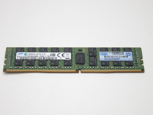 774175-001 HP 32GB DDR4 2133 ECC REG DUAL RANK x4 PC4-17000 SERVER MEMORY MODULE