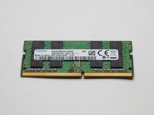 M471A2K43CB1-CTD SAMSUNG 16GB DDR4 2666 SODIMM 2Rx8 PC4-21300 1.2V 260-PIN MODULE
