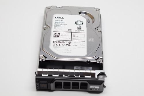 "T52KP DELL 2TB 7.2K SATA 3.5"" 6Gb/s HDD 13GEN KIT FACTORY SEALED"